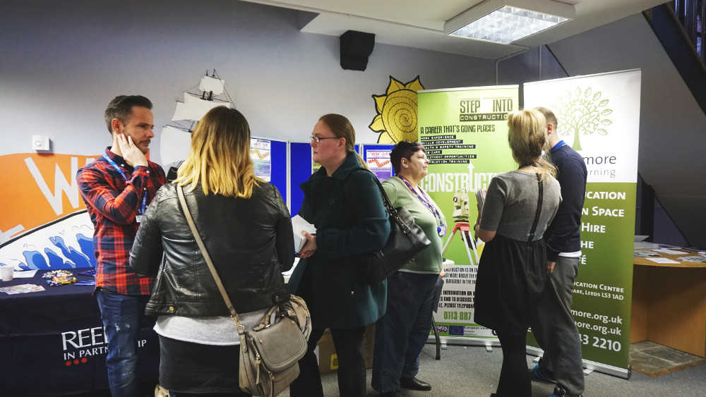 """Exhibition Stand Builders Leeds : Clients """"step up into the construction industry forward"""