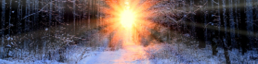 Sun on a winter's day