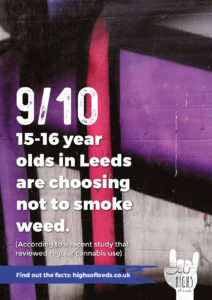 Choosing not to smoke poster