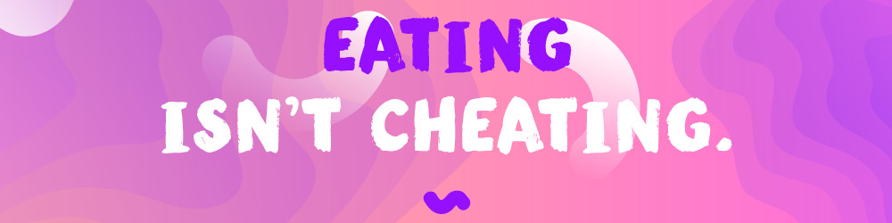 eating isn't cheating image
