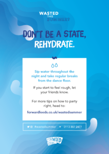 Don't be a state rehydrate poster