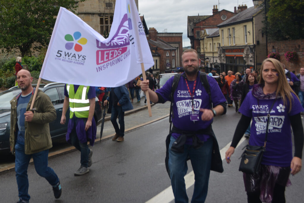 Recovery Walk Shrewsbury