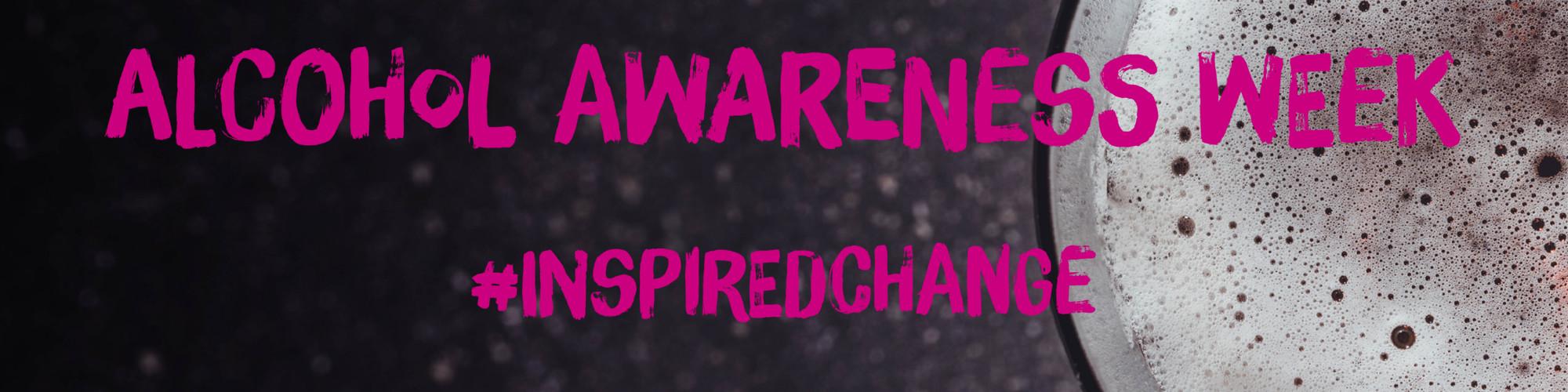 Alcohol Awareness Week Banner image