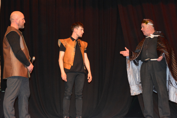 Banquo, Macbeth and King Duncan