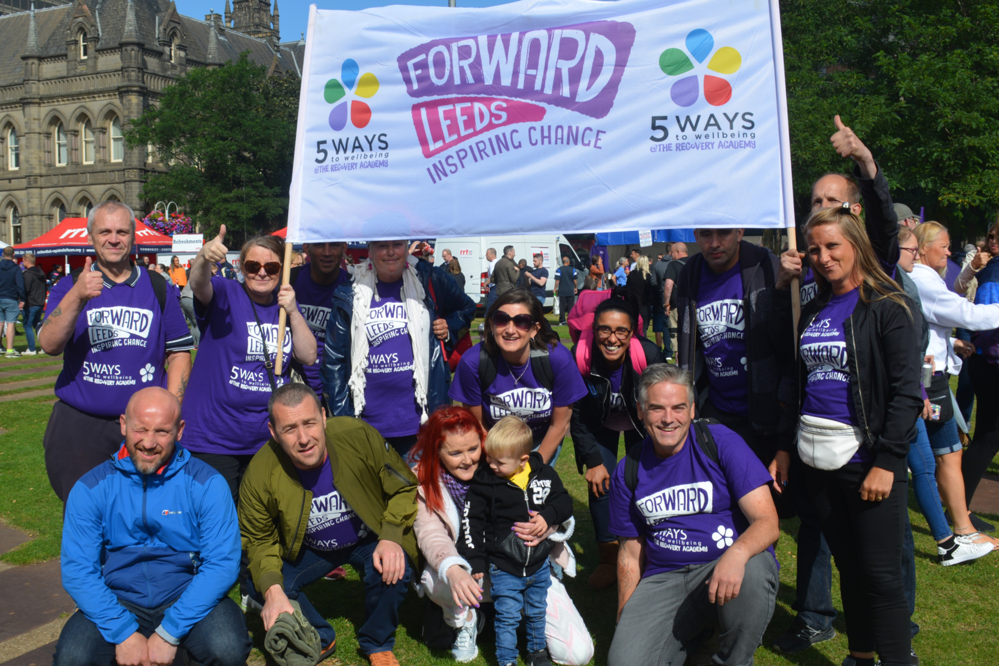5 WAYS at the Recovery Walk