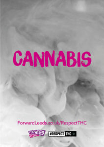 Front page of cannabis booklet