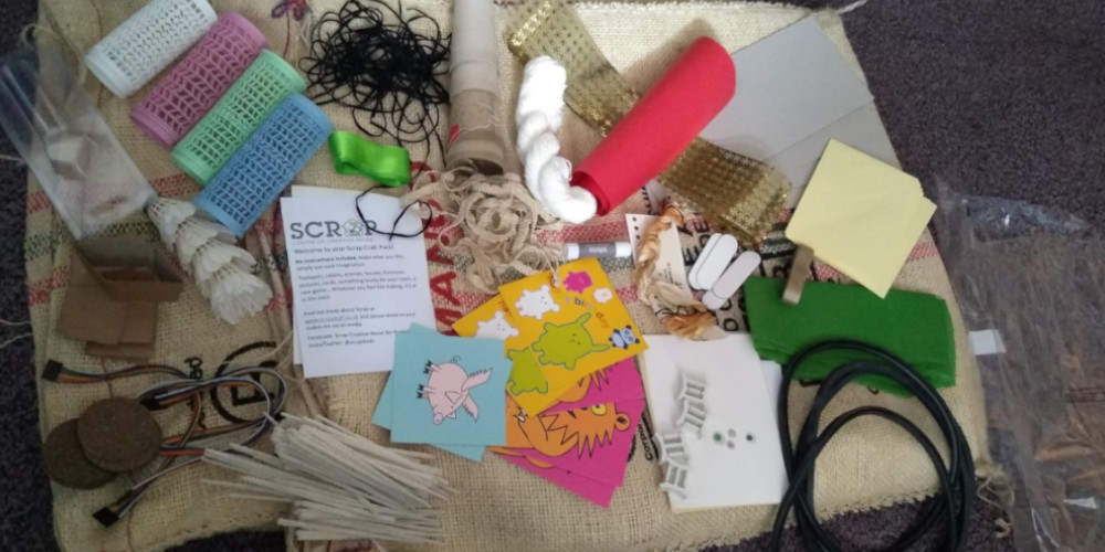 contents of a craft bag