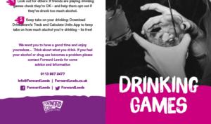 Drinking Games Leaflet