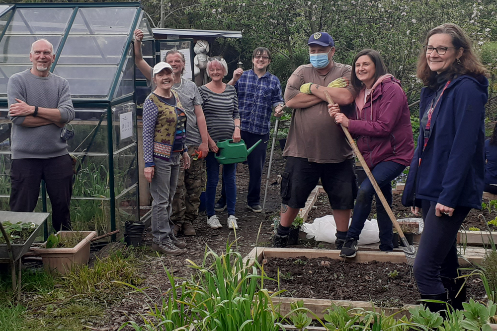 Members of the Gardening Group